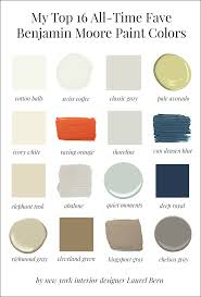 Favorite Interior Paint Colors by My 16 Favorite Benjamin Moore Paint Colors Laurel Home