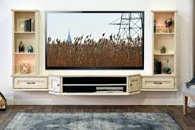 White Shabby Chic Bookcase Tv Stand French Shabby Chic Floating Tv Stand Entertainment