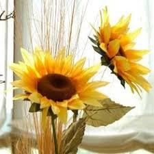 Fake Sunflowers Clean Artificial Flowers Artificial Flower Arrangements