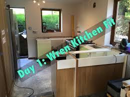 day 1 wren kitchen fitting 18 05 15 youtube