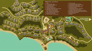 Anguilla Map Punta Mita Resort Map Four Seasons Resort Punta Mita
