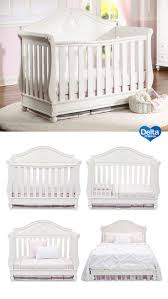 nursery cinderella crib delta toddler bed guardrail disney