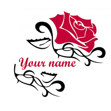 generate design with your name