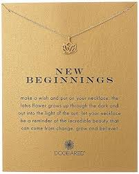 gifts for school graduates birthday gifts for teenagers new beginnings lotus necklace