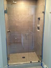 Cost Of Frameless Shower Doors by Bathroom Frameless Shower Door Cost Frameless Bypass Glass
