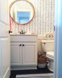 serena and lily wallpaper coastal bath bathroom pinterest