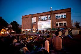 Backyard Movie Theatre by Outdoor Cinema U2013 North Missoula Community Development Corporation