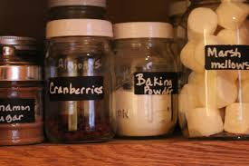 diy frugal chalkboard labels spice pantry organization