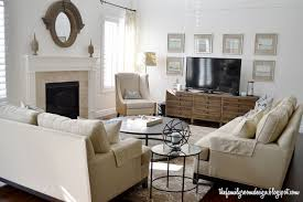 Best  Two Couches Ideas On Pinterest Living Room Lighting - Family room design with tv