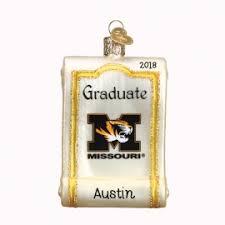 of missouri tigers ornaments personalized