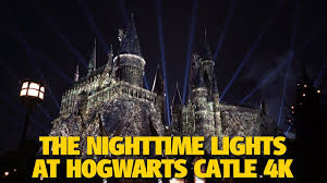 nighttime lights at hogwarts the nighttime lights at hogwarts castle universal orlando youtube