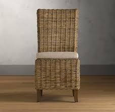 handwoven rattan chair cushion