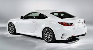 lexus model lexus rc f sport bridges the styling gap between standard model
