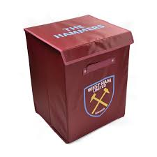 West Ham Duvet Cover West Ham United Fabric Storage Box