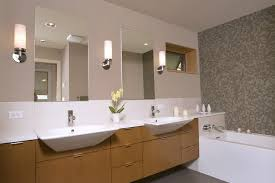 Modern Bathroom Wall Sconce Bathroom Ideas Modern Bathroom Wall Sconces Above
