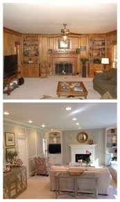 Painted Furniture Ideas Before And After Best 25 Wood Paneling Makeover Ideas On Pinterest Paneling