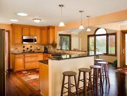 Kitchen Breakfast Bars Designs Open Kitchen With Breakfast Bar Kitchen Cleveland By New