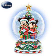 disney a swell holiday miniature snowglobe by the bradford