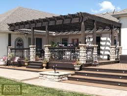 deck pergola kits gazebo plans free porch 6556 interior decor