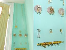 How To Make Home Decoration Diy How To Make A Tidy Jewelry Holder Display Wall For Your Rings