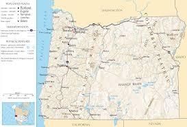 Klamath Falls Oregon Map by