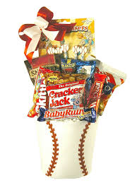baseball gift basket home run baseball gift basket gourmet baskets and gifts