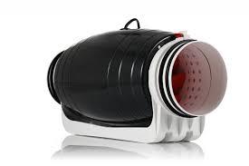 in line blower fan mix flow silencer blower fan inline silent duct power fan black
