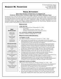 Litigation Attorney Resume Sample by Sample Attorney Resume Resume Badak