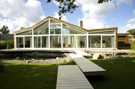glass fronted house interior design ideas