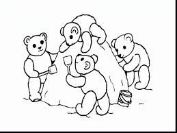magnificent bear and friends coloring pages with friends coloring