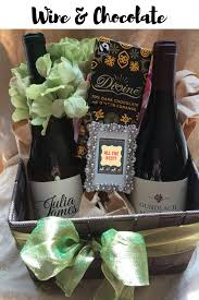 wine and chocolate gift baskets gift baskets butcher