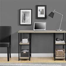 Registry Row Desk Mercury Row Comet Double Pedestal Writing Desk U0026 Reviews Wayfair