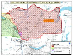 Wildfire Evacuation Stages by Fires Continue To Burn Bc Forests Ckpg News