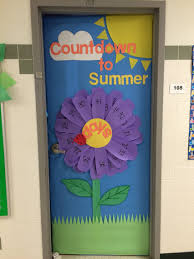 countdown to summer daisy flower door teacher stuff pinterest