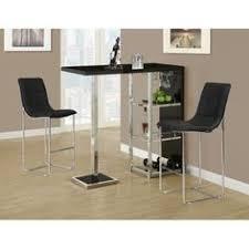 Contemporary Bar Table Crazy Perfect Deals Spectrum 3pc Pub Table Set 24