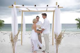 Bamboo Chuppah 3 Chuppah Florida Beach Wedding Siesta Destination Wedding