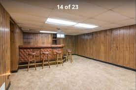 Paneling For Basement by Updating An Old Basement Bar