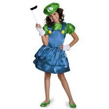 Baby Mario Halloween Costume Buy Super Mario Bros Luigi Skirt Costume Girls