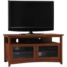 bush buena vista serene cherry tv stand for tvs up to 46