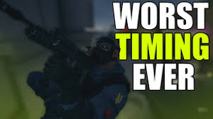 worst timing ever rainbow six siege funny u0026 epic moments youtube