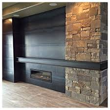 fireplace design reclaimed wood mantel everitt u0026 schilling tile