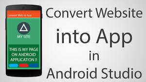 how to app on android how to convert website into android app android studio 2 2 2
