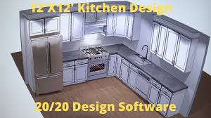 easy to use kitchen cabinet design software kitchen design using 20 20 software