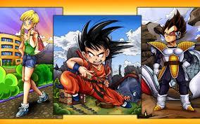 dbz warriors widescreen dragon ball wallpapers goku vegeta