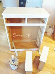 kitchen island trash bin creating a life farmhouse style kitchen cabinet