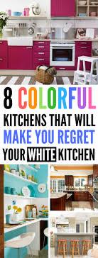 diy kitchen decor ideas 8 diy kitchen color ideas that will make you regret decorating