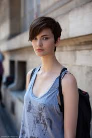 short hairstyles with long sides and short back for girls women