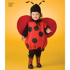 Ladybug Halloween Costume Toddler Pattern Toddler Costumes Simplicity