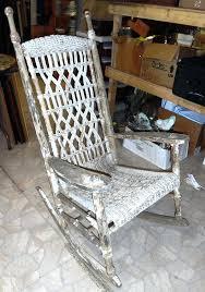 Resin Wicker Rocking Chair White Resin Rocking Chair White Resin Wicker Rocking Chair Patio
