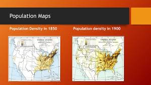 United States Population Distribution Map by The Gilded Age Urbanization Bryant Lewis Population Maps